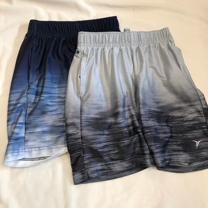 set of OLD NAVY ACTIVE shorts